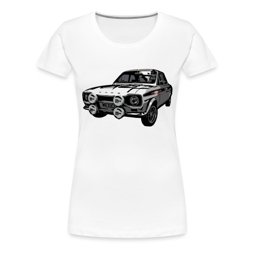 Mk1 Escort - Women's Premium T-Shirt