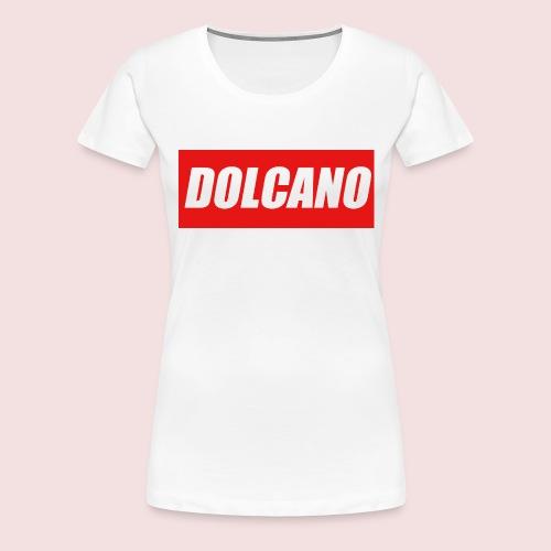 DOLCANO Box Logo Short Sleeved T-Shirt. - Women's Premium T-Shirt