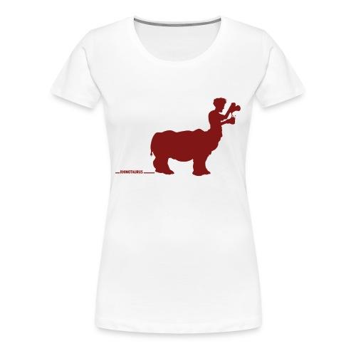 Rhinotaure sans texte - T-shirt Premium Femme