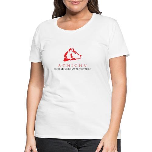 atmicmu logo merch - Vrouwen Premium T-shirt