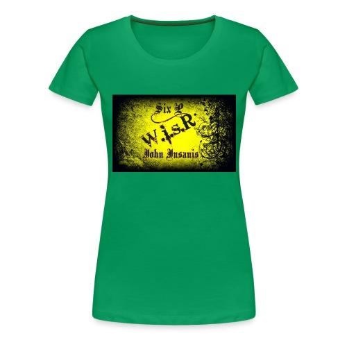 Six P & John Insanis Treenikassi - Naisten premium t-paita