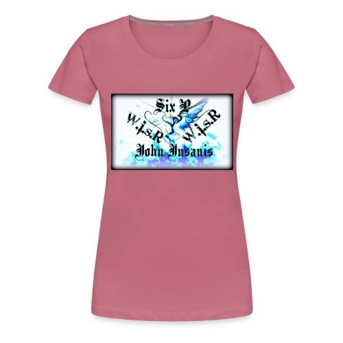 Six P & John Insanis WISR -Huppari- - Naisten premium t-paita