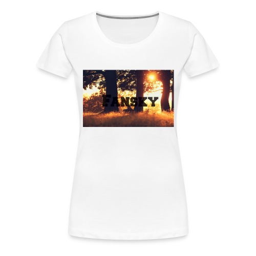 Fansky Black One - Camiseta premium mujer