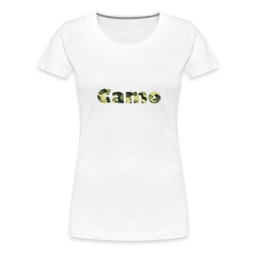 Camo Designs - Vrouwen Premium T-shirt