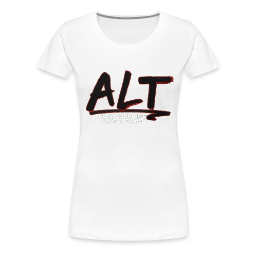 ALT Collection Special RED PLAY YOUR LIFE - T-shirt Premium Femme