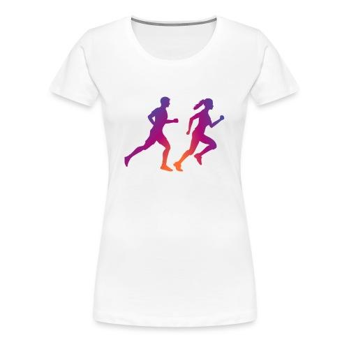 runner sport deporte correr influencer - Camiseta premium mujer