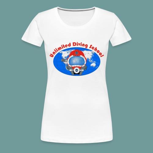 logo uds red - T-shirt Premium Femme