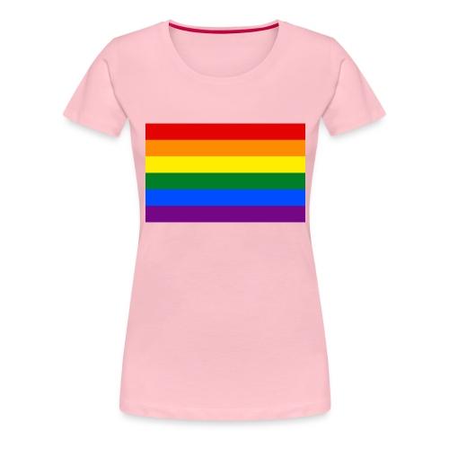 PRIDE BAGDE - Dame premium T-shirt