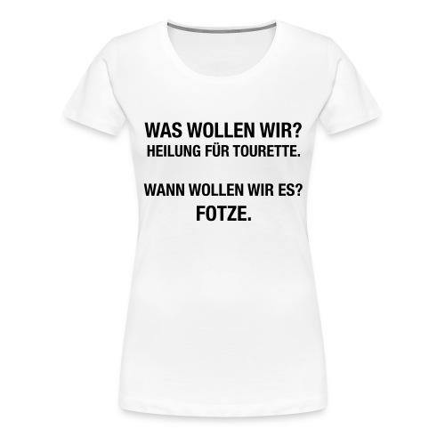 Tourette - Frauen Premium T-Shirt