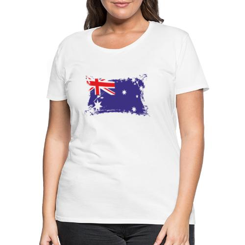 Australian Flag / Flagge Australien / Australia - Frauen Premium T-Shirt