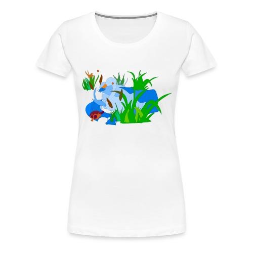 łabedz - Koszulka damska Premium