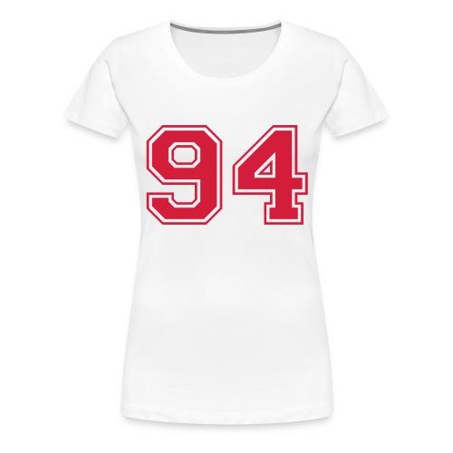 94 Open - Vrouwen Premium T-shirt