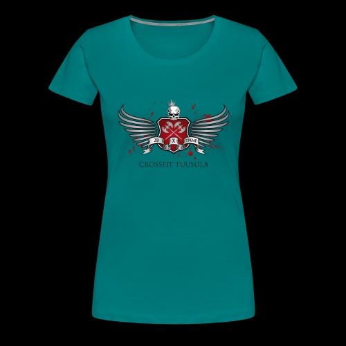 CrossFit Tuusula - Naisten premium t-paita