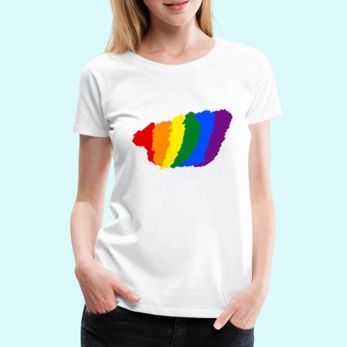 designe LGBT - T-shirt Premium Femme