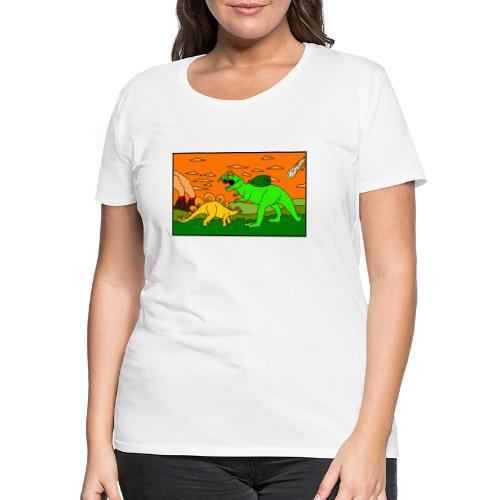 Schneckosaurier von dodocomics - Frauen Premium T-Shirt