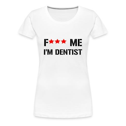 F me noir min png - T-shirt Premium Femme