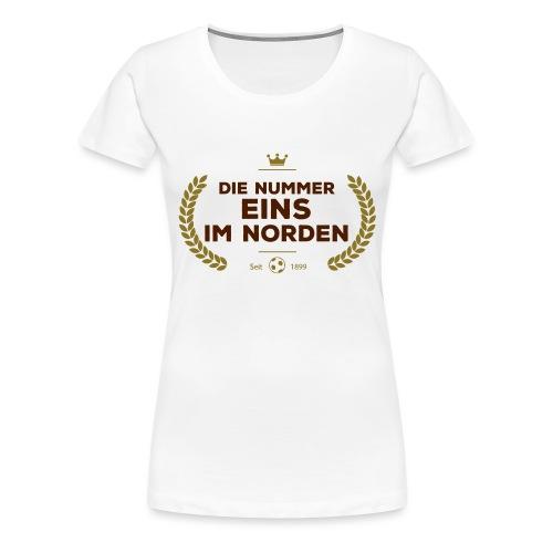 No1 Lorbeerkranz - Frauen Premium T-Shirt
