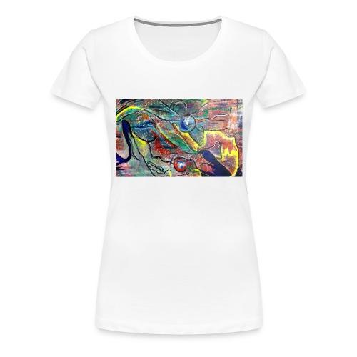 Facing Couples - Frauen Premium T-Shirt