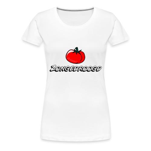 ZONGEDROOGD - Vrouwen Premium T-shirt