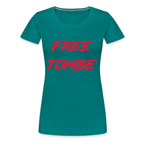 FREE TOMBE AI - Frauen Premium T-Shirt