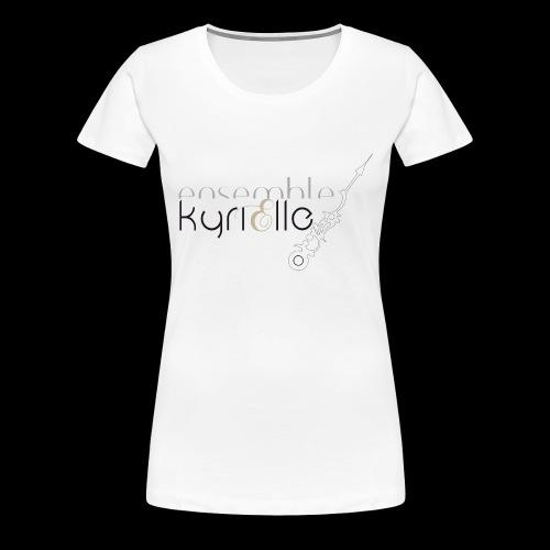 Ensemble Kyrielle - Logo - T-shirt Premium Femme