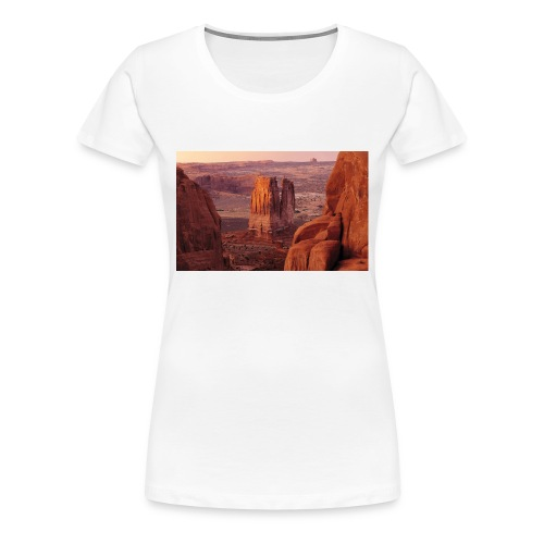 berg - Premium-T-shirt dam
