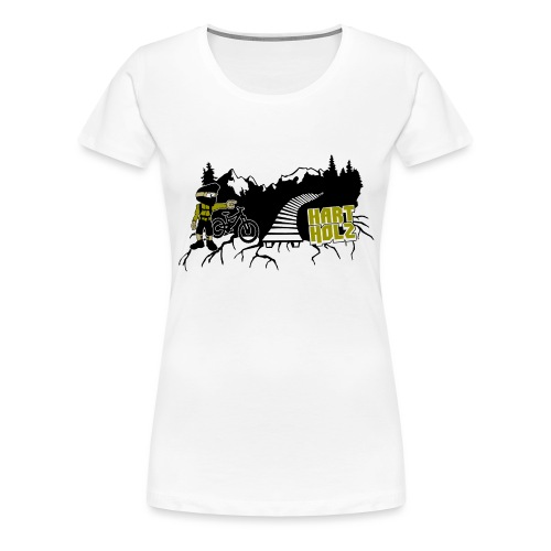 HARTHOLZ OLDSCHOOL - Frauen Premium T-Shirt