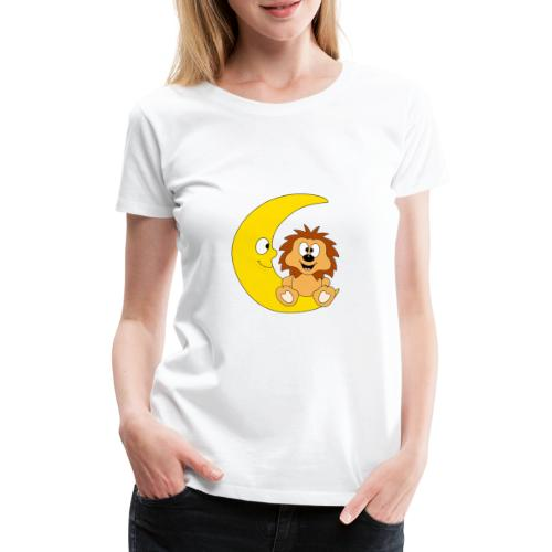 Lustiger Igel - Mond - Kinder - Baby - Fun - Frauen Premium T-Shirt