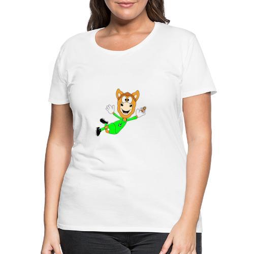 Lustiges Pferd - Fußball - Torwart - Fliegenfänger - Frauen Premium T-Shirt