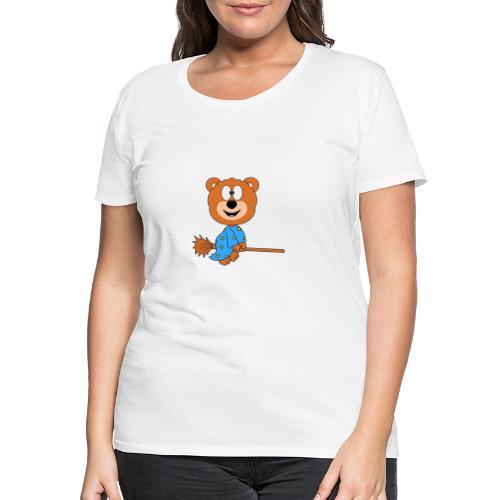 Lustiger Teddy - Bär - Hexe - Kind - Baby - Fun - Frauen Premium T-Shirt