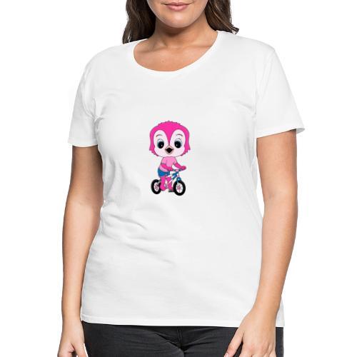 Lustige Eule - Fahrrad - Sport - Kind - Baby - Frauen Premium T-Shirt