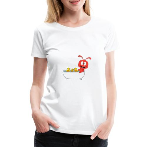 Lustige Ameise - Badewanne - Kind - Baby - Fun - Frauen Premium T-Shirt
