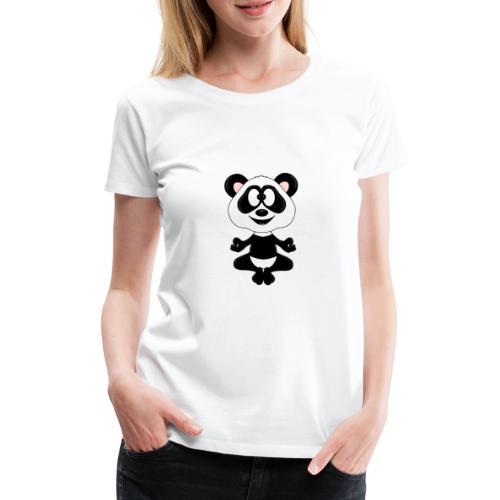 Panda - Bär - Yoga - Chillen - Relaxen - Tierisch - Frauen Premium T-Shirt