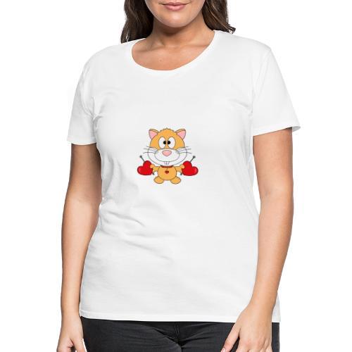 Hamster - Herzen - Liebe - Love - Kind - Baby - Frauen Premium T-Shirt