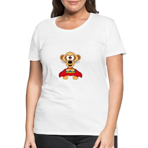 Erdmännchen - Superheld - Kind - Baby - Tier - Frauen Premium T-Shirt