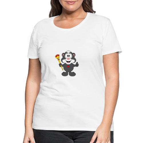 Stinktier - König - Königin - Tier - Kind - Baby - Frauen Premium T-Shirt
