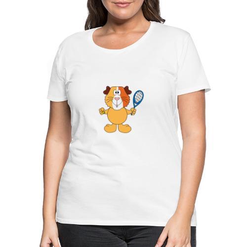 Meerschweinchen - Tennis - Sport - Tier - Kinder - Frauen Premium T-Shirt