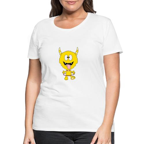Monster - Hula-Hoop-Reifen - Kind - Baby - Frauen Premium T-Shirt