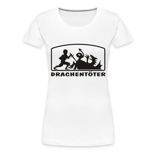 drachentoeter - Frauen Premium T-Shirt