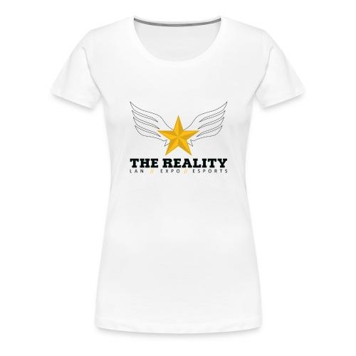 The Reality Mug - Vrouwen Premium T-shirt