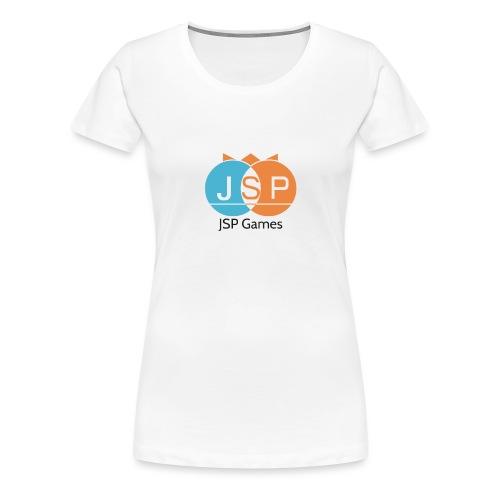 JSPGames_logo - Frauen Premium T-Shirt