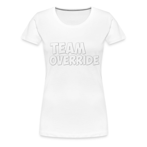 Team Override Mug Youtube - Women's Premium T-Shirt