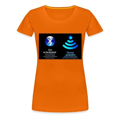 WIFI - Vrouwen Premium T-shirt