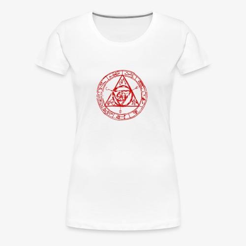 Eldritch Sigils - Naisten premium t-paita