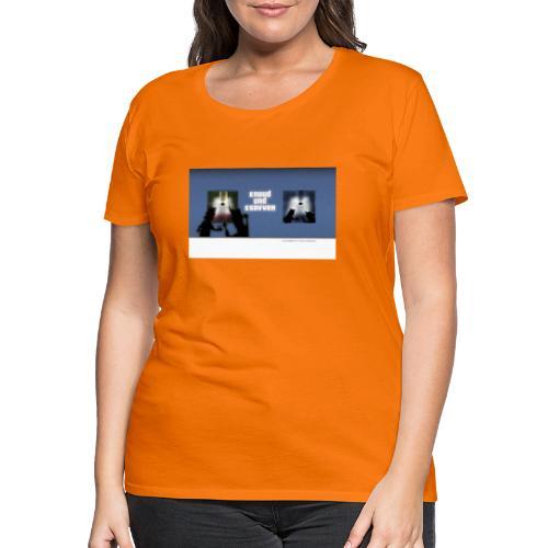 Die Geschichten von Knuud und Ksavver anno 2069 - Frauen Premium T-Shirt