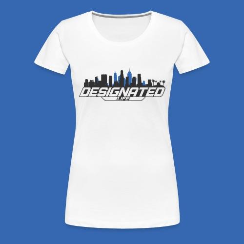Designated Black - Frauen Premium T-Shirt