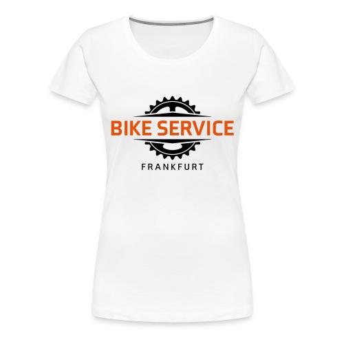 Bike Service Frankfurt - Frauen Premium T-Shirt
