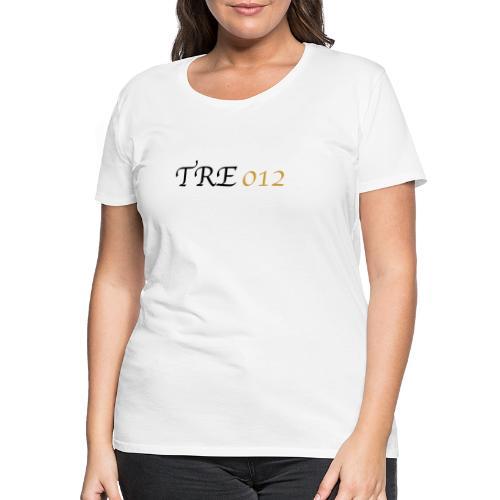 TRE012 - Maglietta Premium da donna