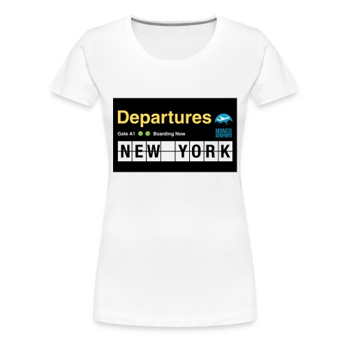 Departures Defnobarre 1 png - Maglietta Premium da donna