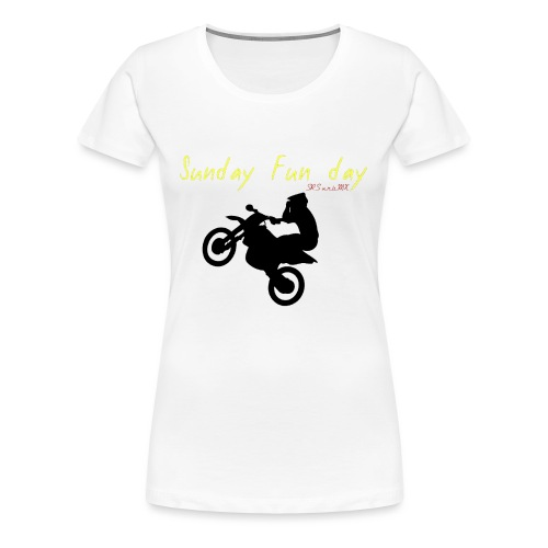 sunday funday 2 - T-shirt Premium Femme